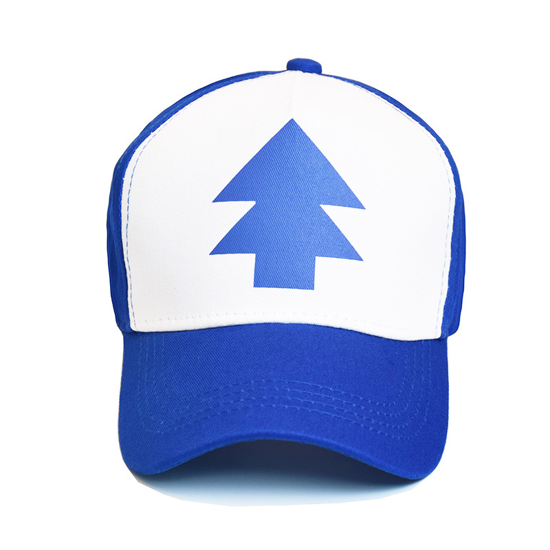 Baseball-Hat Falls-Cap Trucker-Caps Dipper Gravity Adjustable Parent-Child 1PC Curved-Bill