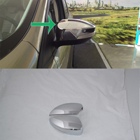 Car Accessories Exterior Decoration ABS Chrome LHD Side Door Handle Cover Trims For Ford Kuga/Escape 2013 Car styling