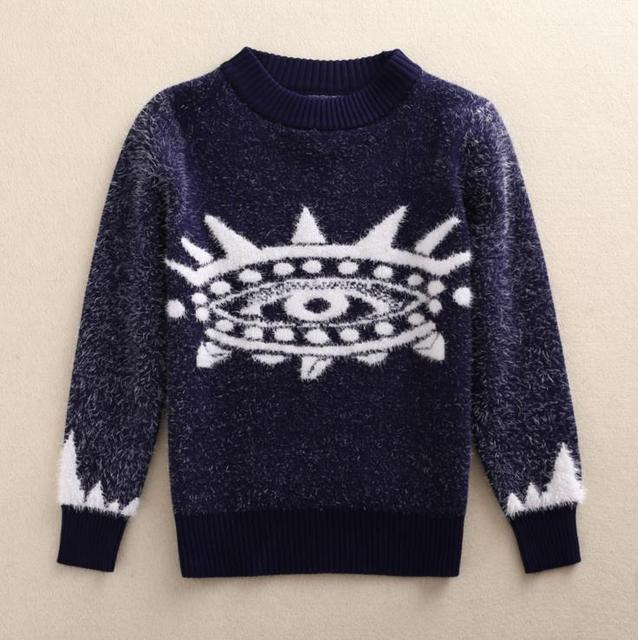 Spring Winter 3 4 5 6 8Y Christmas Sweater Baby Boy Clothes Kids Pullover Warm Sweater Children's Clothing AS-1526