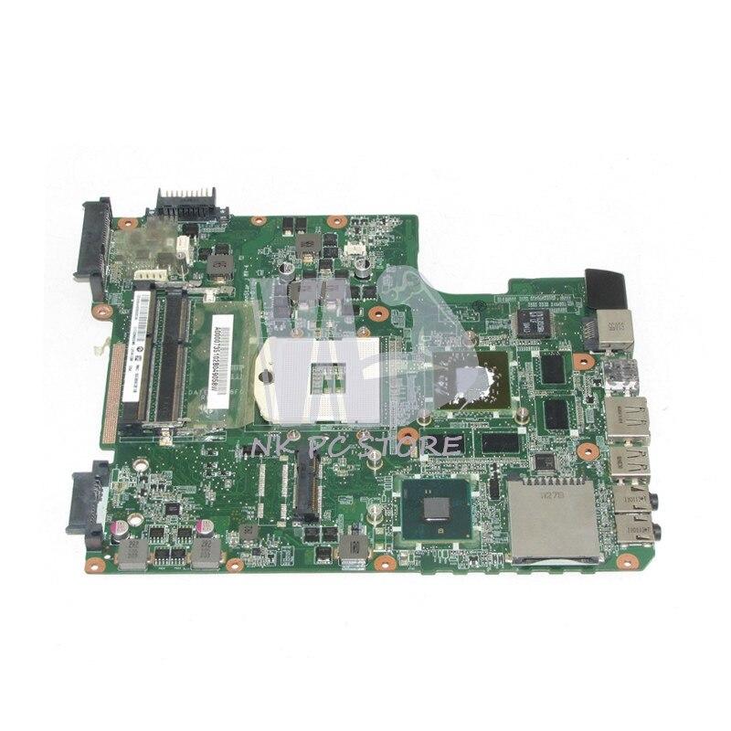 NOKOTION DATE2DMB8F0 A000073510 For Toshiba satellite L645 L640 Laptop motherboard HM55 DDR3 HD 5650 Video Card nokotion a000073700 laptop motherboard for toshiba satellite l640 l645 main board da0te2mb6g0 intel hm55 gma hd ddr3