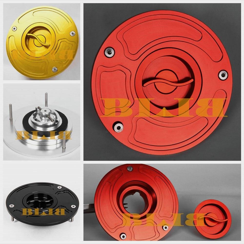 8 Color Moto Billet Fuel Tank Cover Petrol Gas Cap For Honda CB 600F 599 CB599 CB600F F Hornet 600 CBR 250RR CBR250RR RC51 RC 51