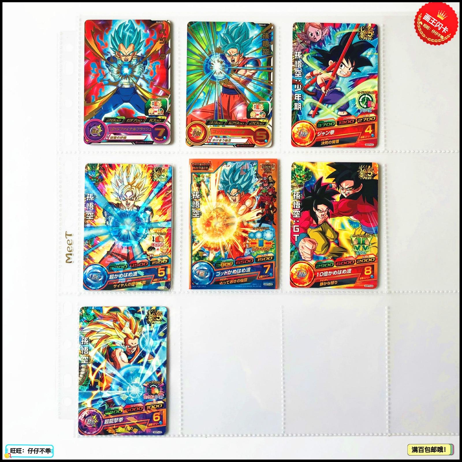 Japan Original Dragon Ball Hero Card GD5TH Goku Toys Hobbies Collectibles Game Collection Anime Cards