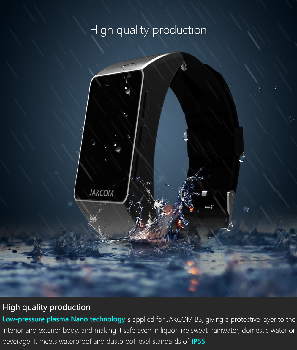 Jakcom B3 Smart Band New Product Of Wristba As Heart Rate Monitor Watch For Xiaomi Mi Band 2 Bracelet Talkband 14