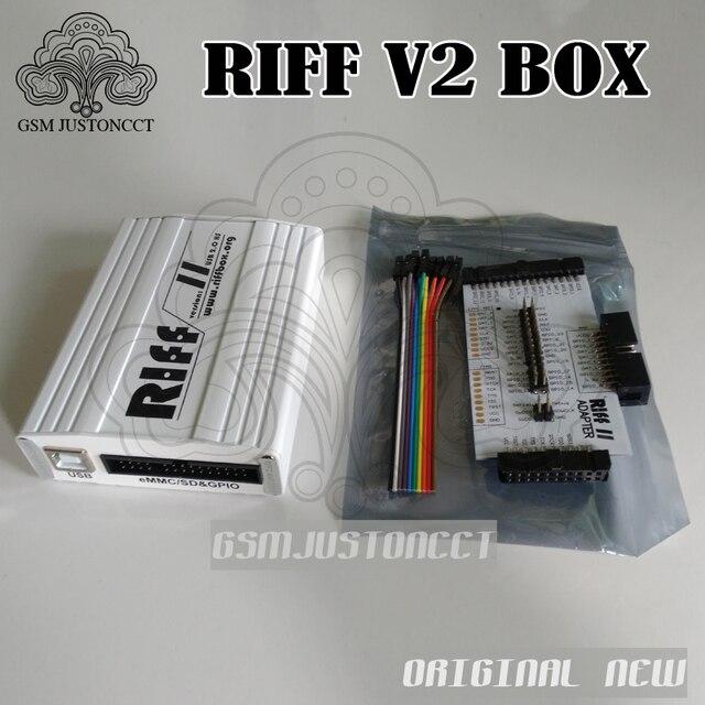 100% original NEW RIFF BOX V2 Jtag For HTC,SAMSUNG,Huawei Riff Box Unlock&Flash&Repair