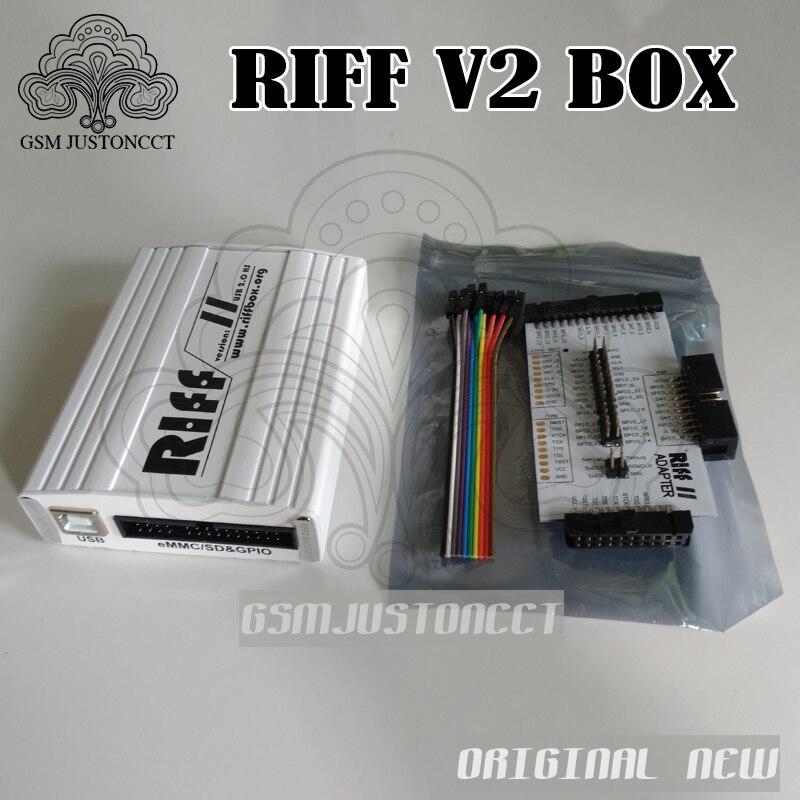 100% original nouveau RIFF BOX V2 Jtag pour HTC, SAMSUNG, Huawei Riff Box déverrouillage & Flash & réparation
