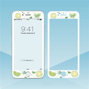 Image 5 - Fleurs beau verre trempé pour iPhone XS MAX XR 6s 8 7plus protecteur décran bord souple Film de protection pour iPhone 11 Pro Max