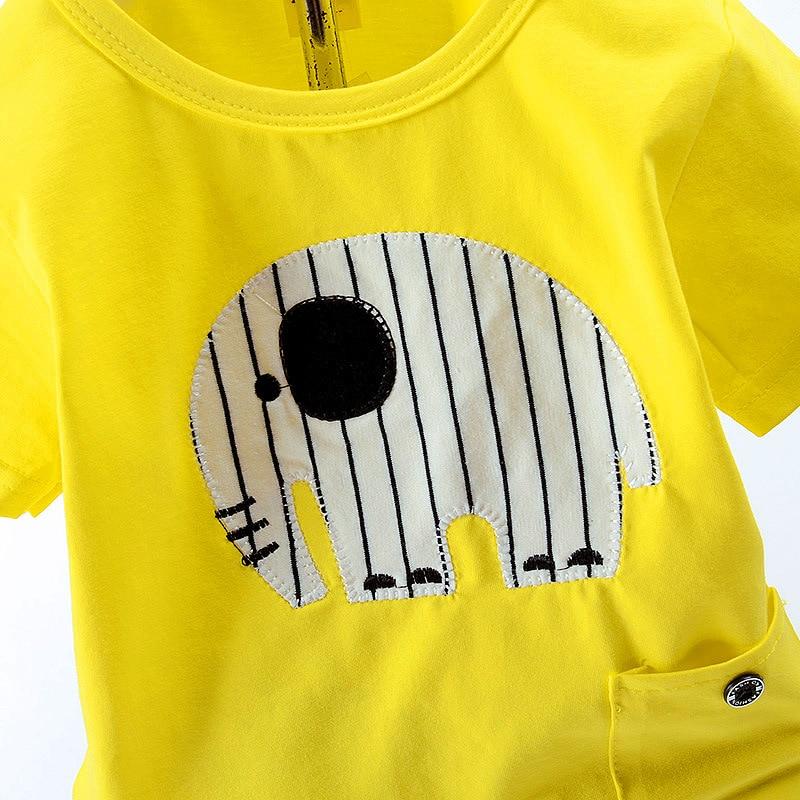 2 Sztuk / partia Nowa Moda Lato Nosić dla Chłopców Fotografia - Odzież dla niemowląt - Zdjęcie 6