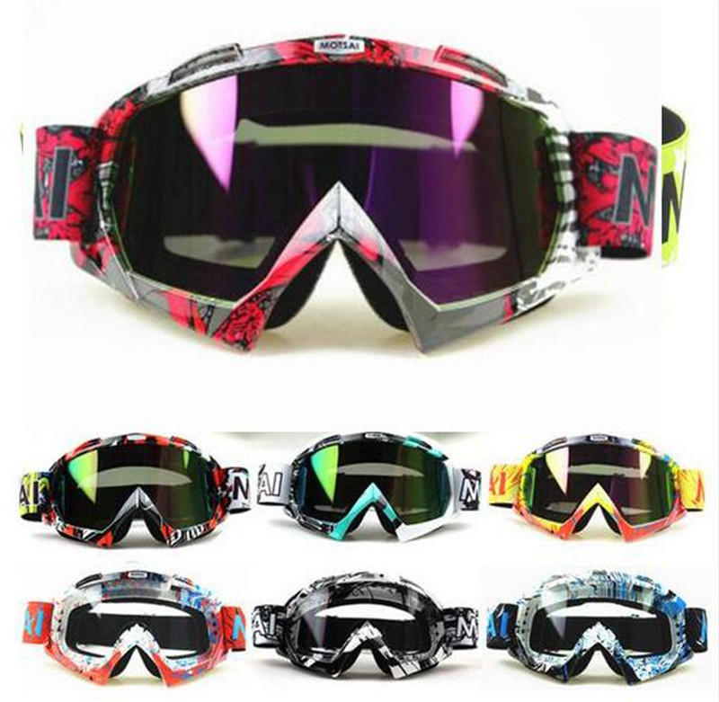 New Ski Snowboard Windproof Goggles Dustproof Motorcycle Riding Glasses Motocross Off-Road Downhill Dirt Bike Eyewear