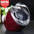 Jebely Vermelho Único Watch Winder para relógios automáticos automático enrolador de armazenamento caixa display case JA003rd 1
