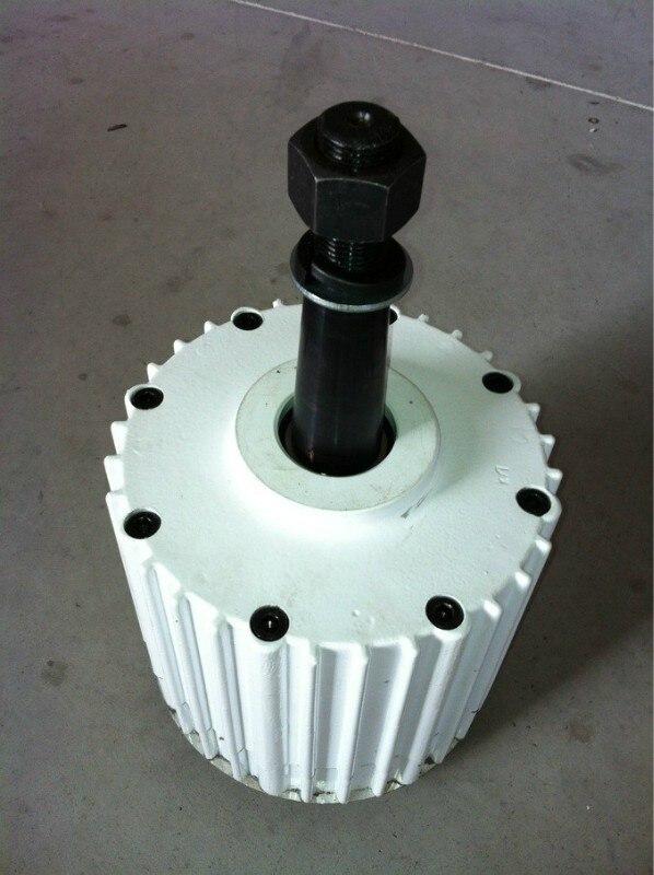 1kw AC low rpm permanent magnet generator