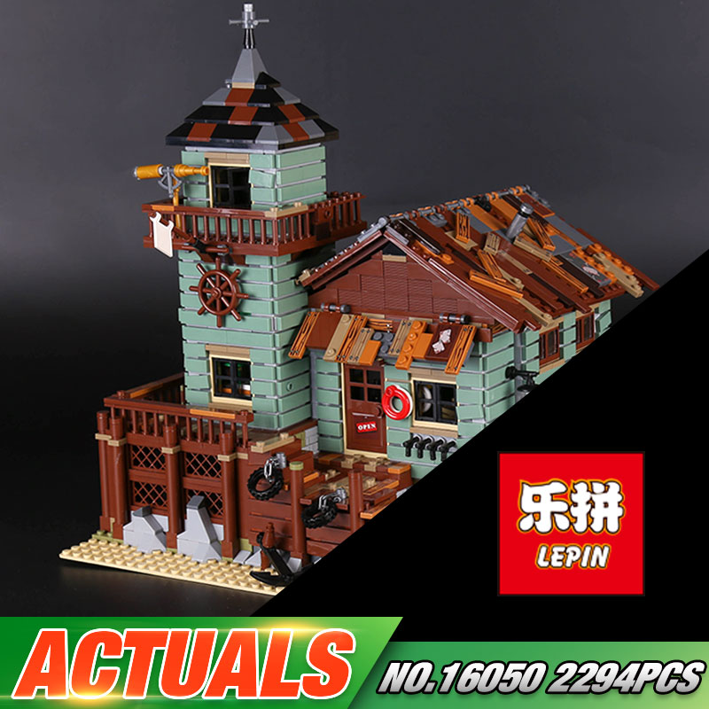 In Stock DHL Lepin 16050 2294Pcs MOC Series The Old Finishing Store Set 21310 Building Blocks Bricks Christmas Toys Gift for Kid lepin 16050 the old finishing store set moc series 21310 building blocks bricks educational children diy toys christmas gift