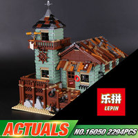 In Stock Lepin 16050 New 2109Pcs MOC Series The Old Finishing Store Set 21310 Building Blocks