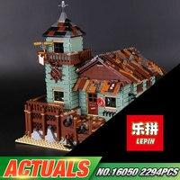 In Stock DHL Lepin 16050 2294Pcs MOC Series The Old Finishing Store Set 21310 Building Blocks