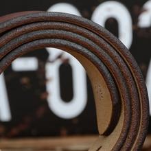 High Quality Vintage Style Genuine Leather Belt