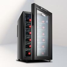 6 слоев большой JC-48BW постоянная температура винный холодильник коммерческий бар винный шкаф домашний маленький чай электронный холодильник