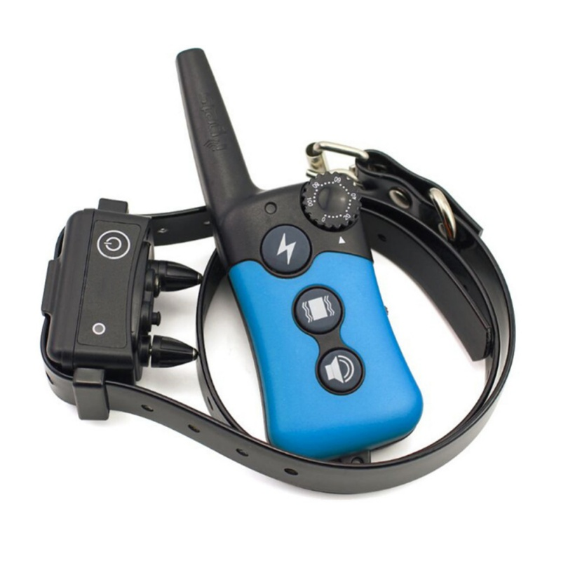Waterproof Electric Pet Dog Training Collar Anti barking Shock Vibration Light Word Command Device Trainer Remote