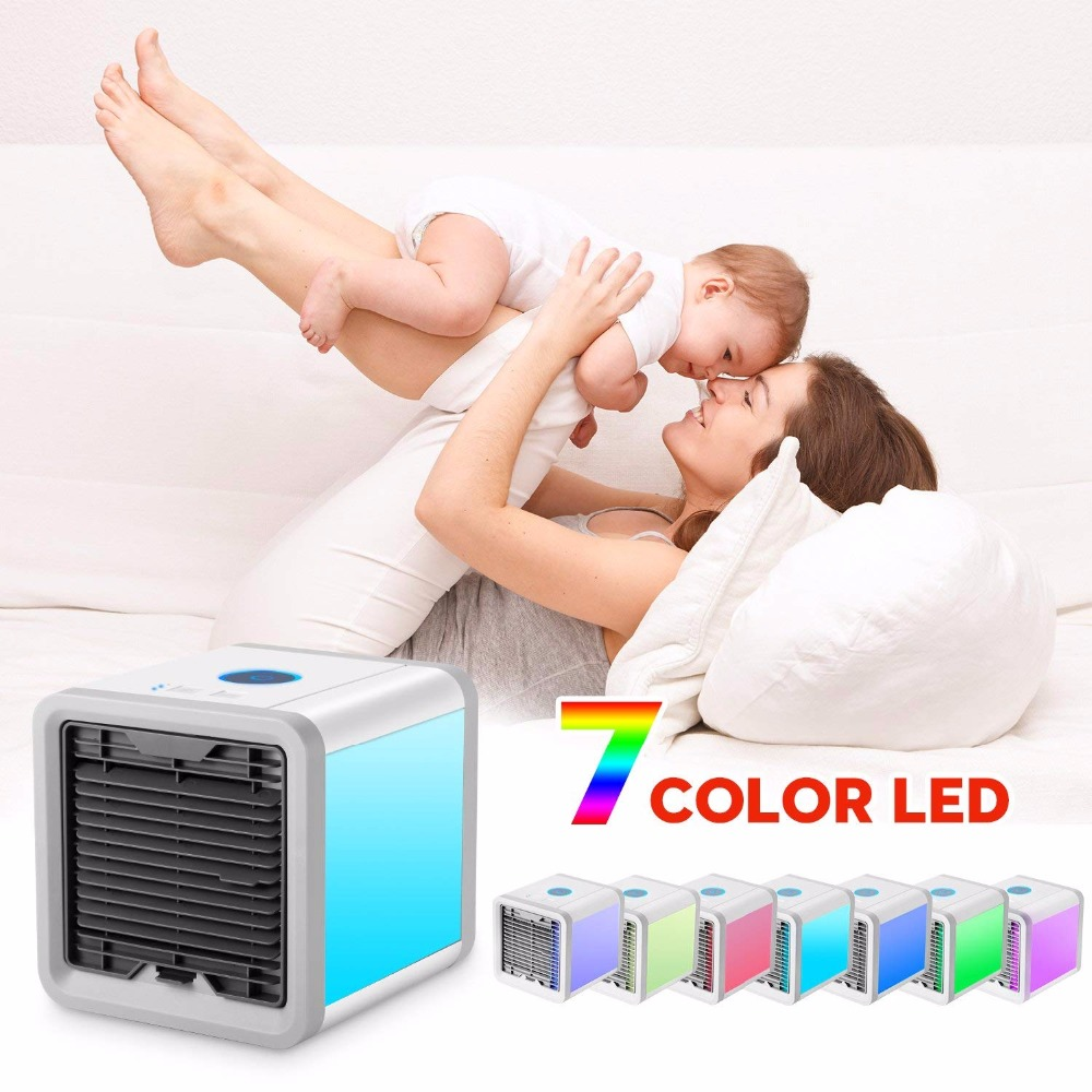 цена на UKLISS Personal Space Cooler The Quick & Easy Way to Cool Any Space As Seen On TV mini personal air cooler