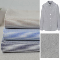 Tecidos Tissus Patchwork Pinstripe Stretch Cotton Shirting The Spring And Autumn Period Diy Craft Cloth Shirt Garment Fabrics