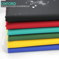 150cm Wide 500g M Ultra Thick Oxford Coated Double Faced Waterproof Fabric For Canopy Luggage Cloth