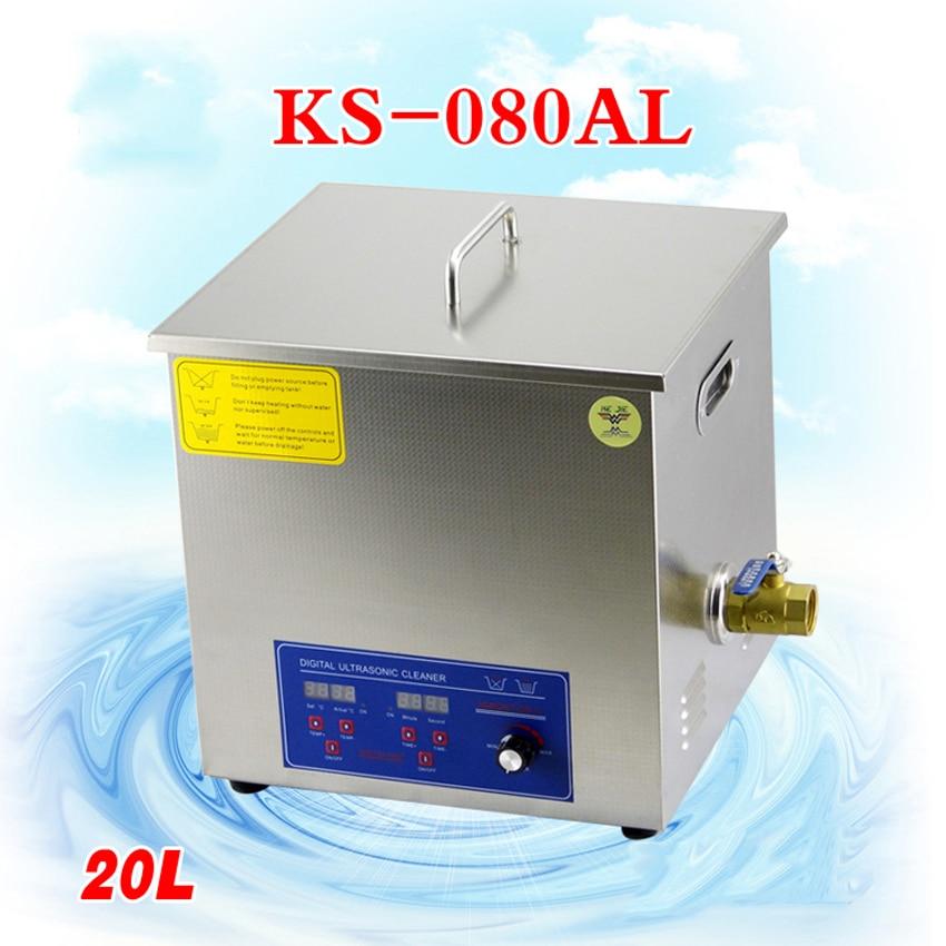 Abundante 1 Pc 110 V/220 V Ks-080al 20l De Máquinas De Limpieza De Piezas Laboratorio Limpiador/productos Electrónicos Etc. CáLculo Cuidadoso Y Presupuesto Estricto