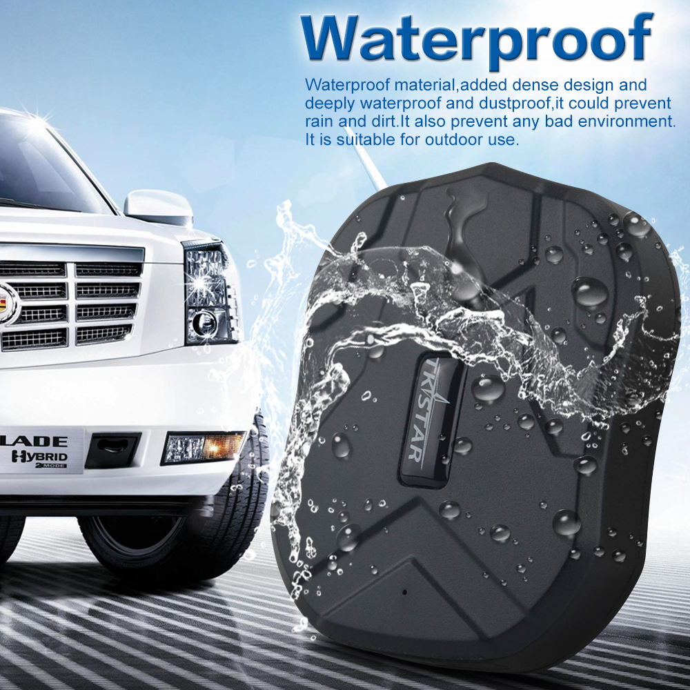 Vehicle GPS Tracke TK905 Waterproof Car GPS Tracker Magnet Standby 90Days Real Time LBS Position Lifetime