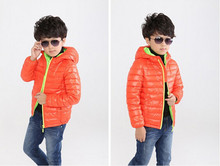 Boys down jacket children's clothing fashion cartoon winter warm outerwear boy velveteen coat Kids clothes for 4-7 years old