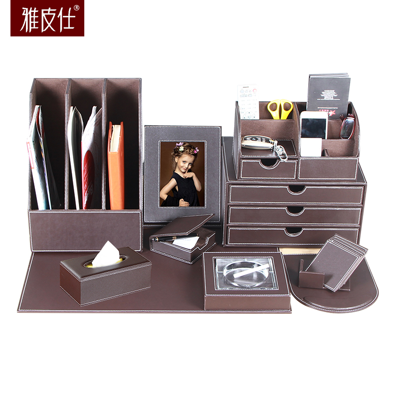 Multi purpose office suite accommodating pen Decoration stationery ...
