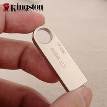 Kingston USB Flash Drive Pen Drive 32G Memory Stick Metal Flash Memoria Stick Custom DIY Craft Logo 32gb for Company Gift U Disk