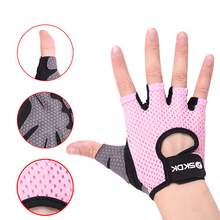Men Half Finger Riding Gloves Bicycle Ridding Climbing Sweat-absorbent Outdoor Sports Non-slip Short