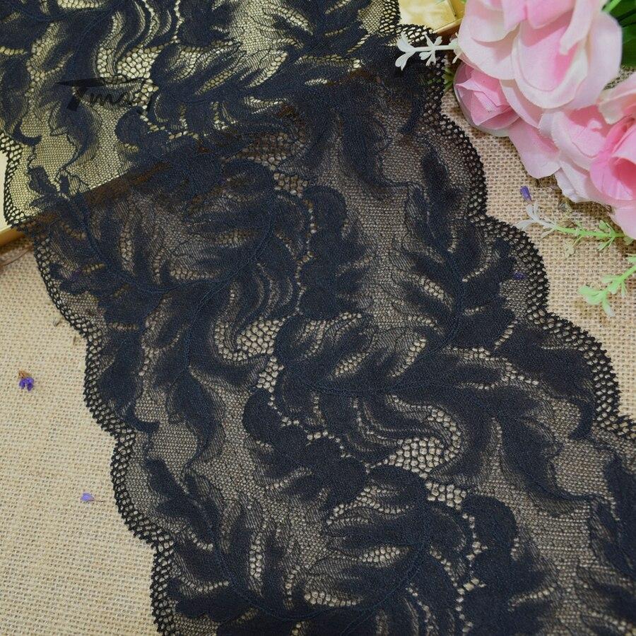 #257 scallop эластичная кружевная кромка, швейная Кружевная аппликация, аксессуары для одежды, подвязки, ширина 20 см