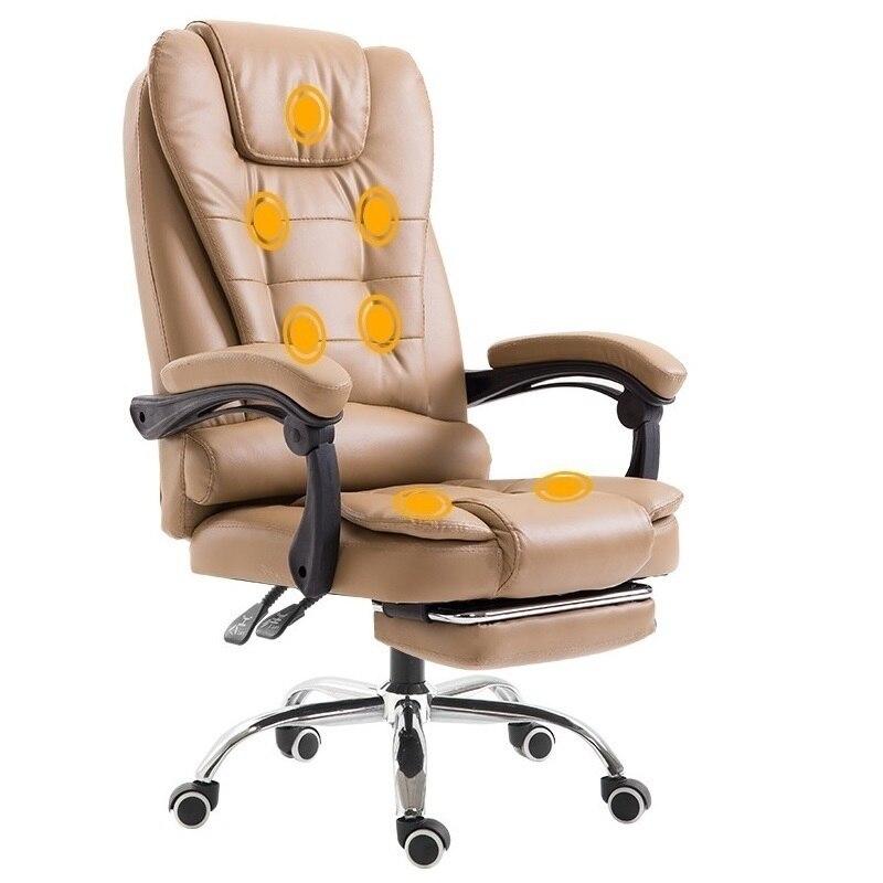 Sedia Ufficio Oficina Bureau Meuble Stoelen Gamer Cadir Fauteuil Fauteuil En Cuir Silla Gaming Cadeira Poltrona Chaise de Bureau