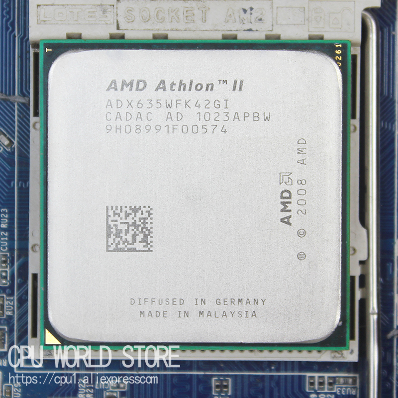 AMD Athlon II X4 635 Quad-CORE CPU Processor 2.9Ghz/ L2 2M /95W / 2000GHz Socket Am3 Am2+ 938 Pin