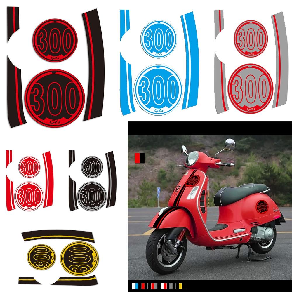 KODASKIN 2D Gts300iesupersport Decal Sticker Emblem For Vespa GTS 300 Gts300