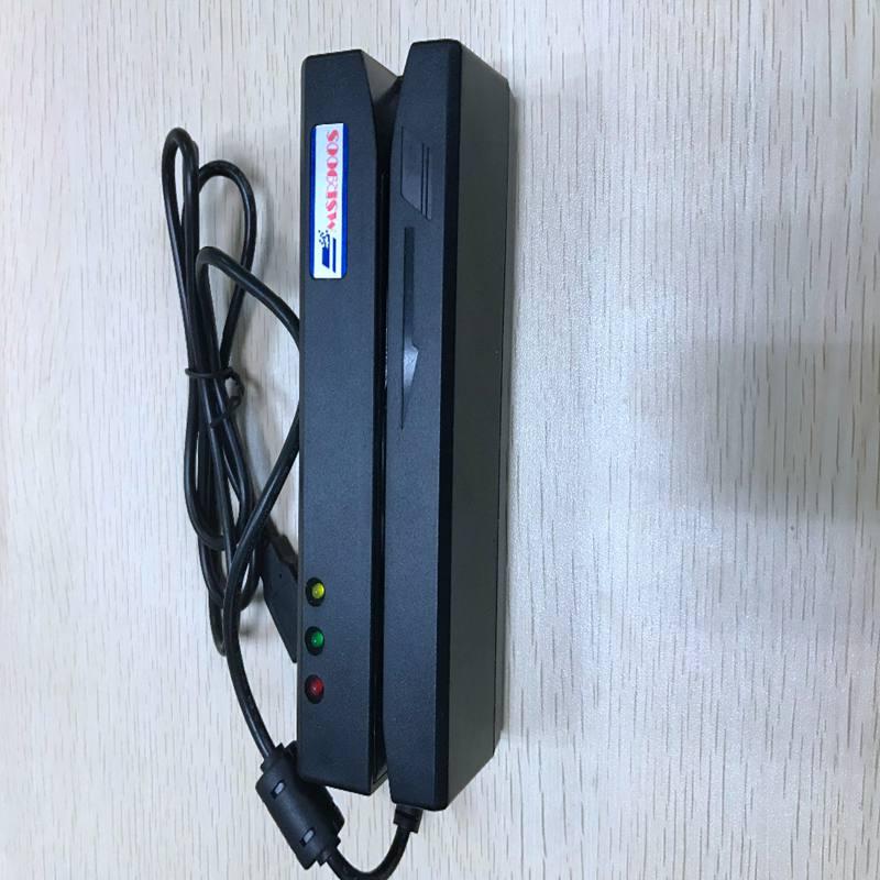 3 Track Hi Co Multifunctional Magnetic stripe Smart IC Chip Card Reader Writer MSR900S magnetic card encoder
