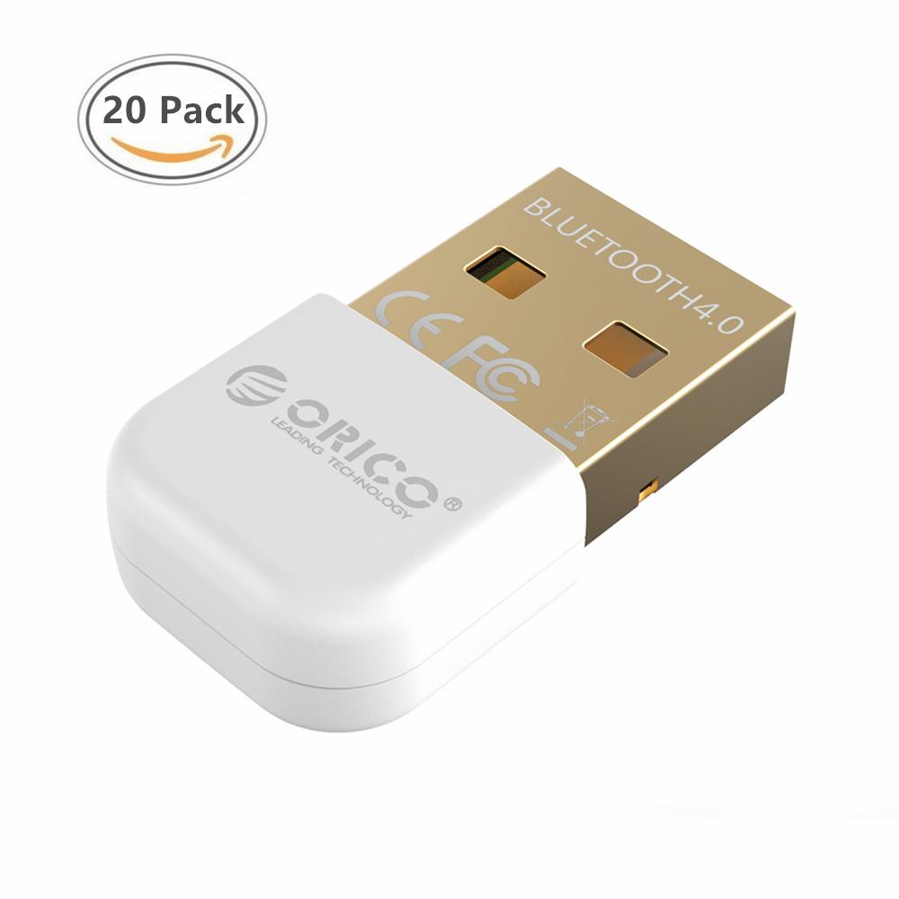 Prix pour Bluetooth4.0 Adaptateur USB Dongle Émetteur Récepteur pour PC pour Windows Vista Compatible Bluetooth 2.1/2.0/3.0 (20 Pack)