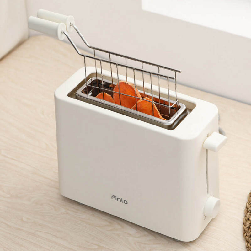 Xiaomi Pinluo Mini Bread Maker Toaster Stainless Steel Bread Machine 6 Baking Modes Sandwich Defrosting Reheat