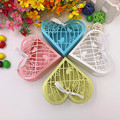"50pcs 4x4x1.3"" Laser Cut Love Birds Wedding Favor Box Candy Box Gift Box Wedding Favors And Gifts Box For Guest Party Supplies"