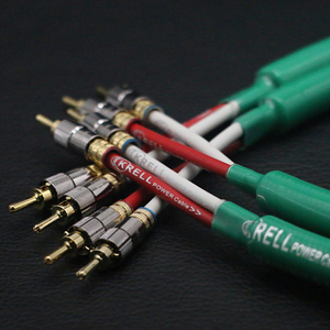 Image 5 - Głośnik hifi kabel Audio pozłacana wtyczka bananowa kabel audiofilski OFC i srebrny Krell wzmacniacz Speakon kable wiązkowe