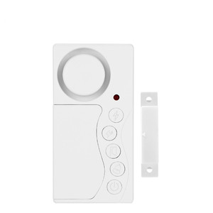 Wsdcam Door and Window Security Alarm Wireless Time Delay Alarm System Magnetic Triggered Door Open Chime for DIY Home Security