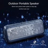 30Hours Playtime 12W Portable Speaker Bass Bluetooth Speaker Solar Energy Waterproof Subwoofer Soundbar Phone Woofer for xiaomi