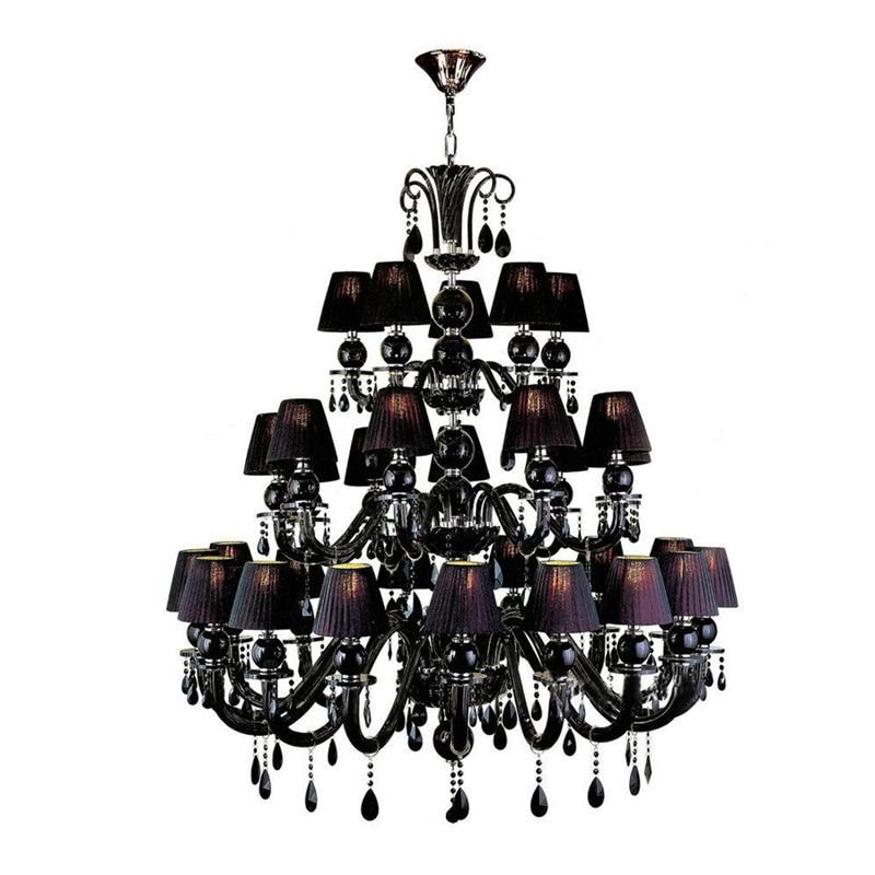 Mājas apgaismojums Dekoratīvās aizmugurējās dzelzs sveces lustra - Iekštelpu apgaismojums - Foto 1