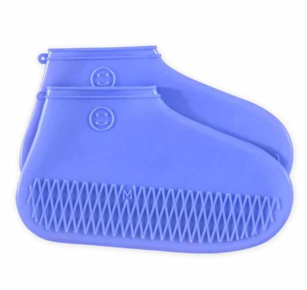 TOPUK BÜYÜK Kadın yağmur çizmeleri Silika jel Kapak Ile Hafif ve Esnek Tatil Aşınmaya dayanıklı kaymaz Kadın ayakkabı koruyucu XWX7343