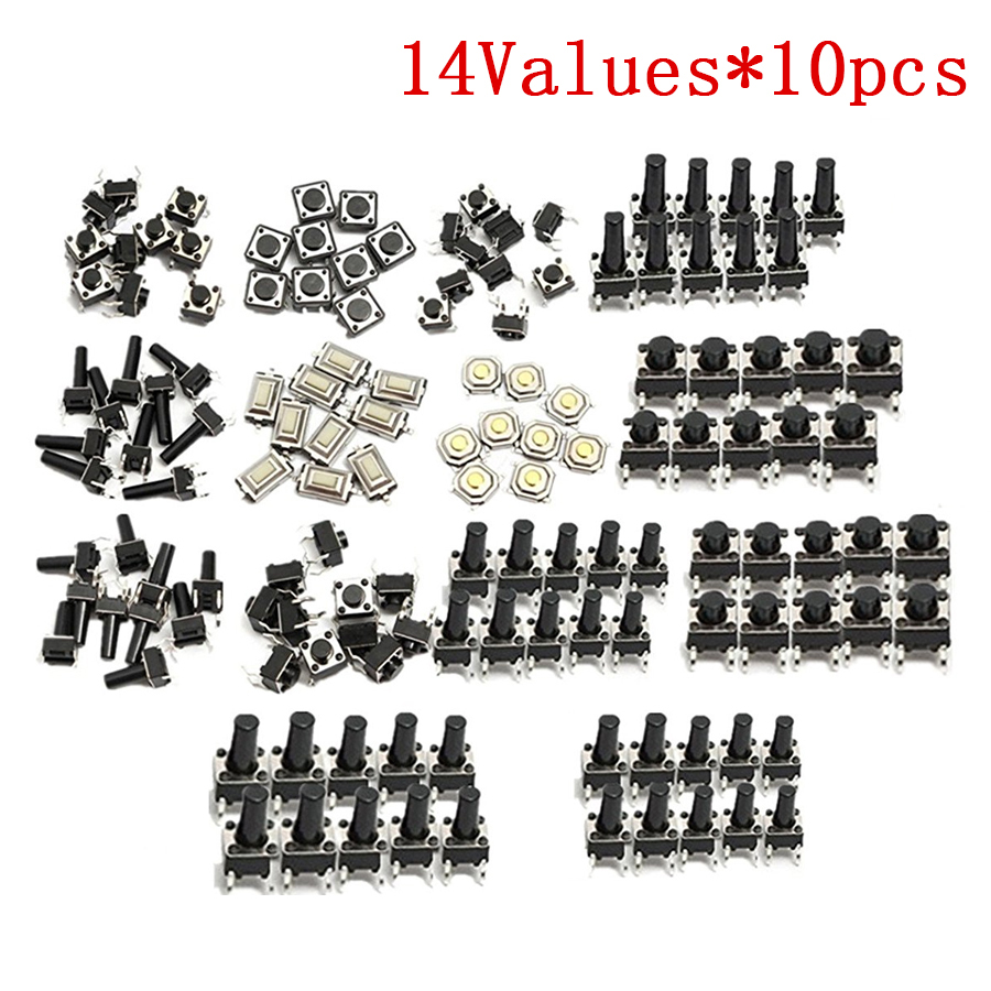 Lovely Eziusin 100pcs 2*3*0.6 Mini Membrane Keyboard Touch Button Micro Switch Little Thin Film Metal Dome For Mobilephone Camera Lighting Accessories Switches