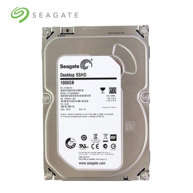 Seagate 1tb Desktop Sshd Solid State Hybrid Drive Sata 6gb S 64mb Cache