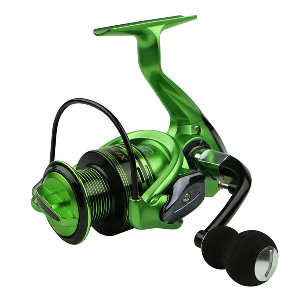 Fishing Reels 13+1BB 5.5:1 Full Metal For Fish Feeder Baitcasting Reel Spinning Reels For Rod(China)