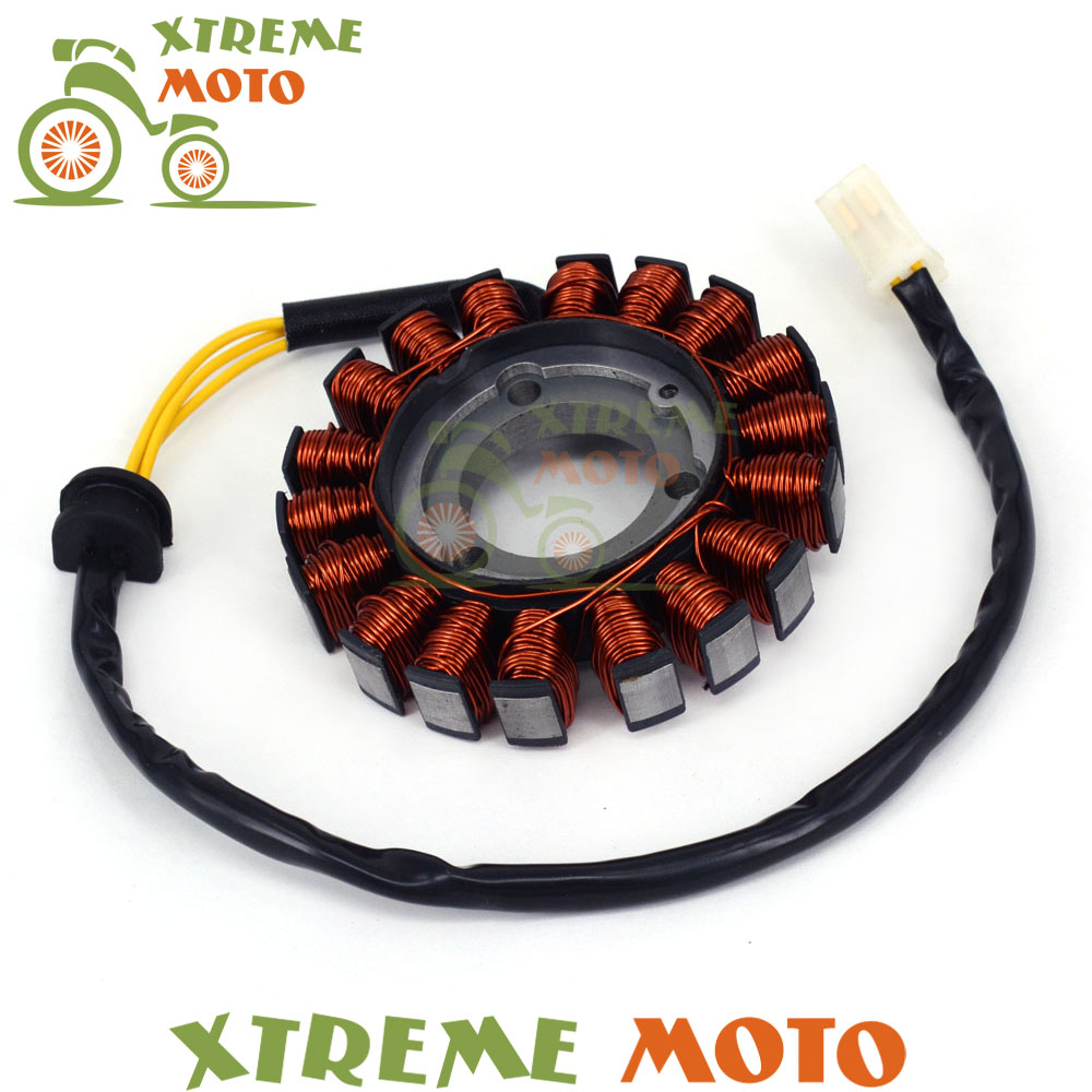 Magneto Engine Stator Generator Charging Coil Copper Wires For GSX-R GSXR600 GSXR750 2006-2015 Motorcycle Dirt Bike