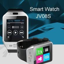 Bluetooth Smartwatch Tragbares Gerät JV08S Smart uhr Für Android IOS Samsung iphone Sony Telefon Smartphone GSM Sim-karte