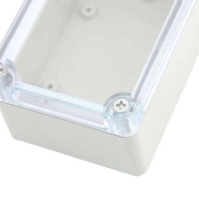DSHA New Hot Screw Mounted Clear Cover Waterproof Sealed Junction Box 100x68x50mm