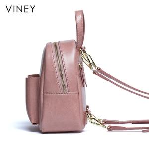 Image 3 - Shoulder Bag Female 2019 New Genuine Leather Fashion Baitao Leisure Korean Backpack Simple Soft Leather Shoulder Bag