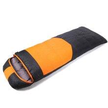 Ultra lightweight and Ultra soft утка вниз спальный мешок Осень зима открытый отдых толстые теплые 210*80 см